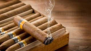 Dégustation de cigares